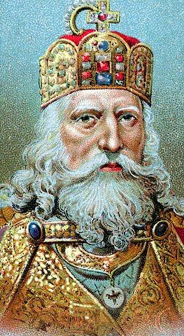 Carlo Magno se apodera del Imperio Romano