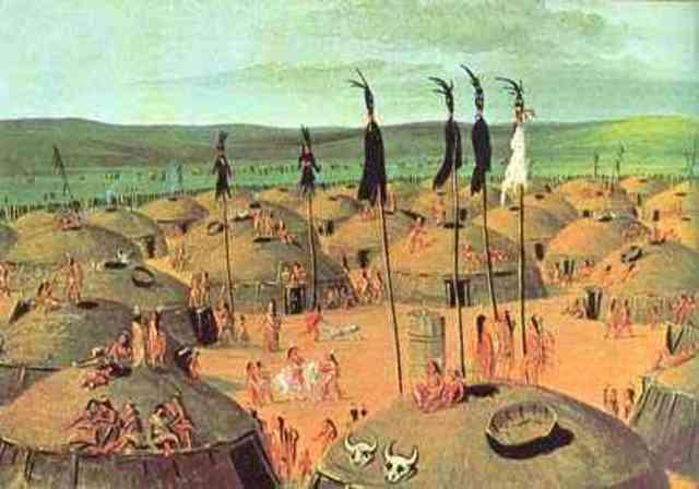 Return To The Mandan Indian Village