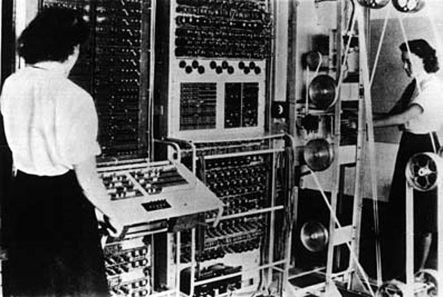 computadora Colossus de Turing