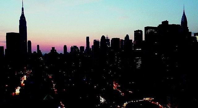 Histórico apagón en Nueva York