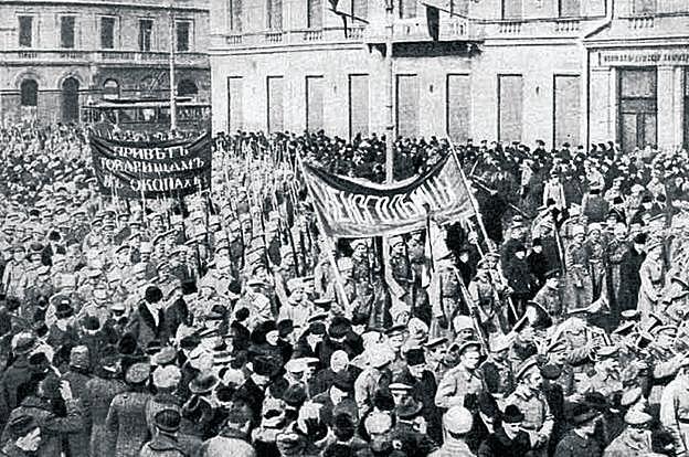 Revolució russa i sortida de la guerra