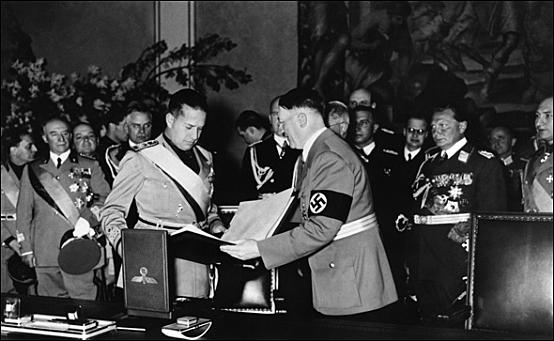 Alemania signa el Pacte d'acer amb Itàlia