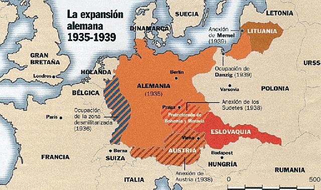 Alemania s'annexiona Txecoslovàquia