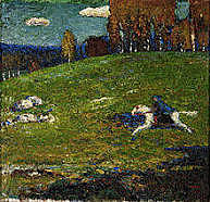 Expresionismo: El jinete azul (Vassily Kandinsky)