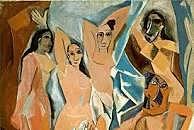 Cubismo: Las señoritas de Avignon (Pablo Picasso)