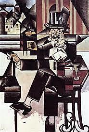 Cubismo: Man in The café (Juan Gris)