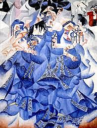 Futurismo: Bailarina azul (Gino Severini)