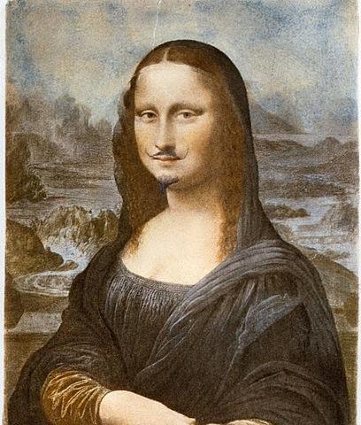 Dadaísmo: L.H.O.O.Q  (Marcel Duchamp)