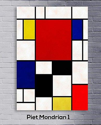 Neoplasticismo: Cuadro 1 (Piet Mondrian)