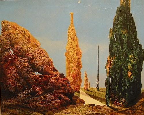 Surrealismo: Árbol solitario y árboles conyugales (Max Ernst)