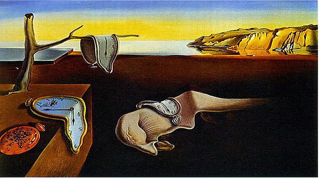 Surrealismo: la persistencia de la memoria (Salvador Dali)