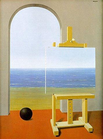 Surrealismo: La Condicion Humana (Magritte)