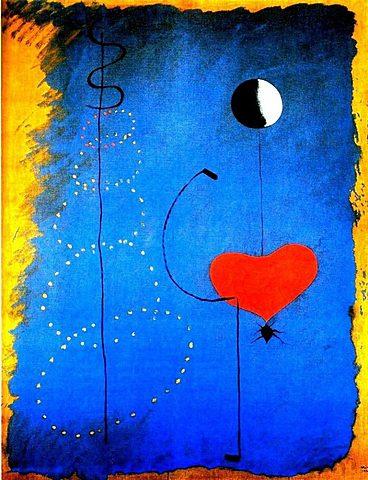 Surrealismo: La bailarina española (Joan Miró)