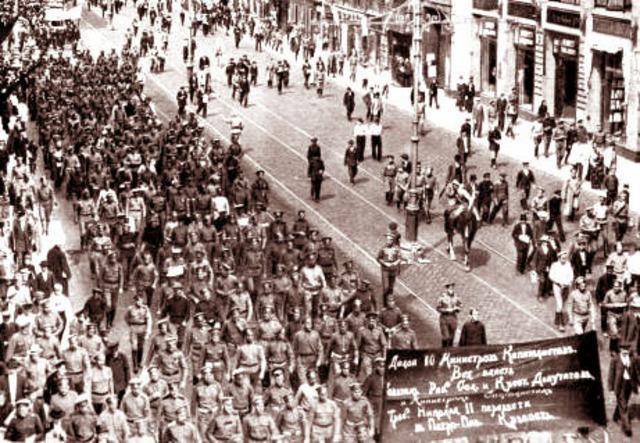 Petrograd Strike