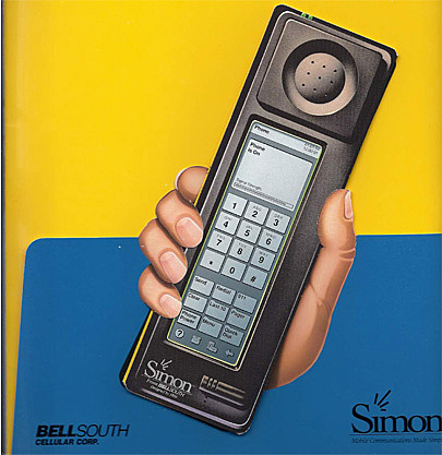 "El primer smartphone de la historia ""IBM Simon"""