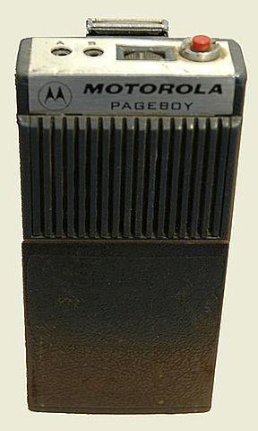"Beeper ""Motorola Pageboy"""