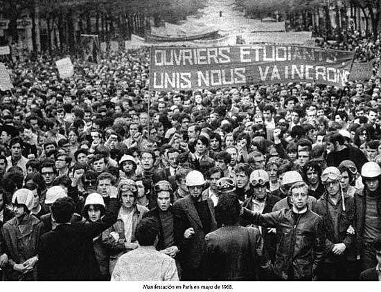 Revolución cultural del 68-Movimientos sociales