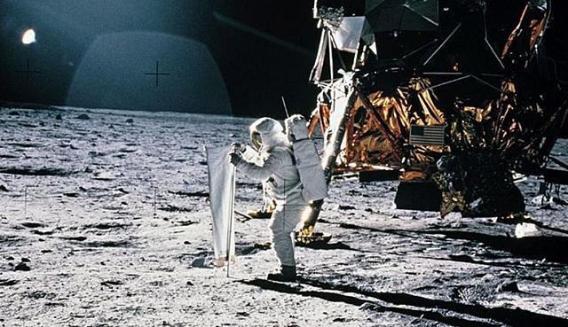 El hombre llega a la luna - Apolo 11