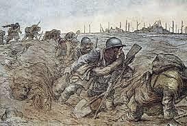 Estallo Primera Guerra Mundial.