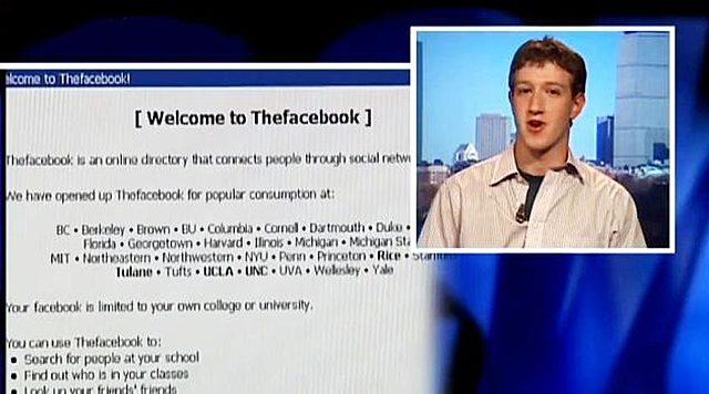 Lanzamiento de Faceebook