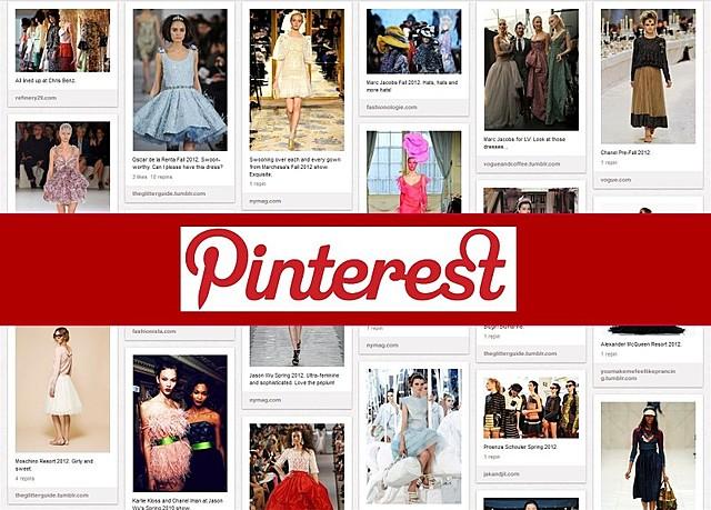 Aparición de Pinterest