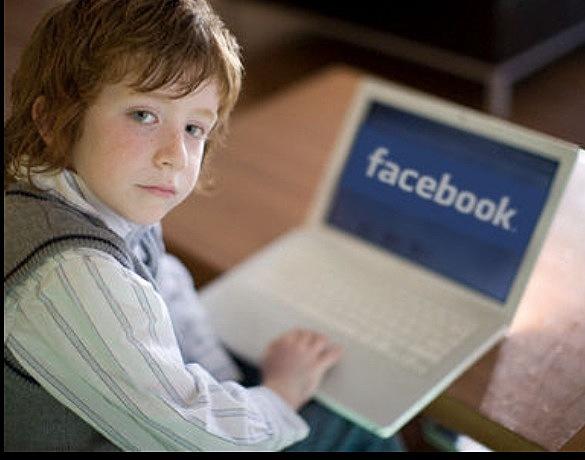 Menores en Facebook