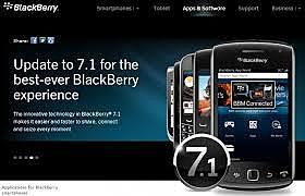 BlackBerry OS 7.1