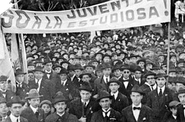 Movimiento de la reforma universitaria en Argentina