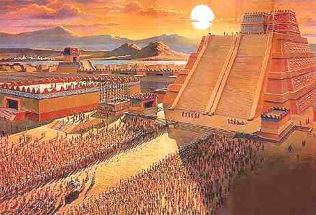 Tenochtitlan stablished