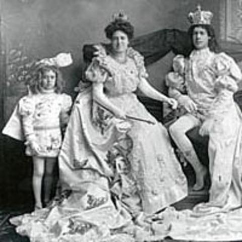 Daniel E. Huger first reigned as Carnival King Felix I