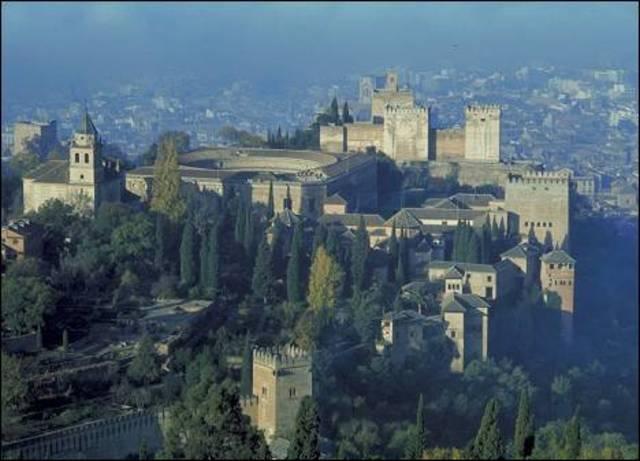 kin ferninand and queen Izabella capture Granada