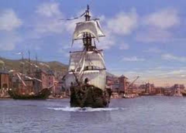 Santo Domingo established by Spanish in Hispaniola