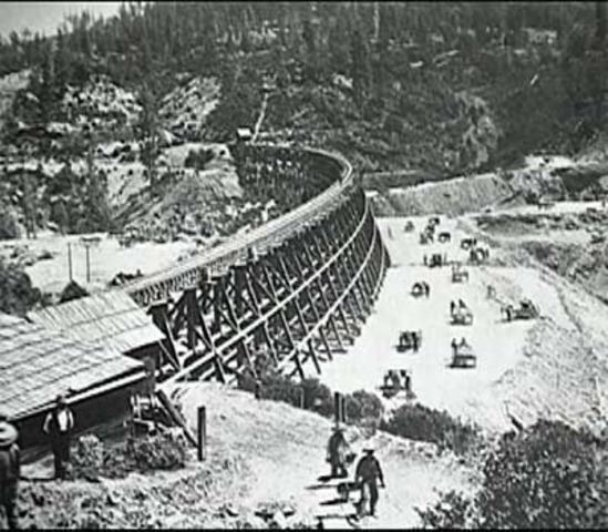 Transcontinental Raildroad joined near Ogden, Utah