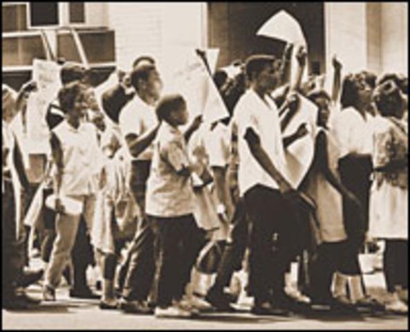 Birmingham Children's March and Boycott