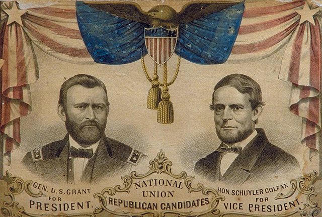 Grant gets Elected to be President