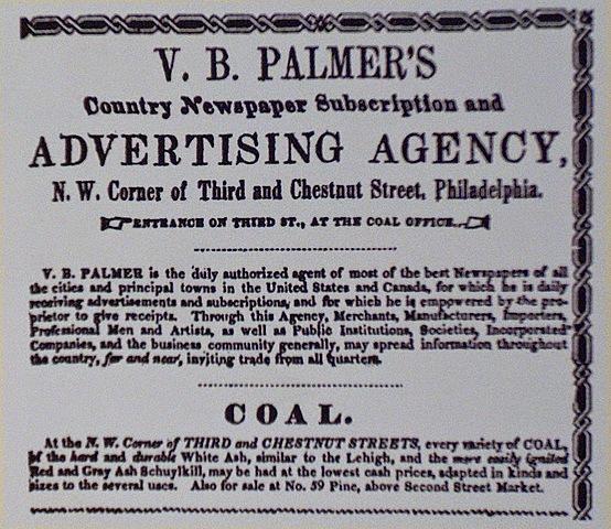 """Primera agencia de publicidad llamada """"voleny palmer"""""""