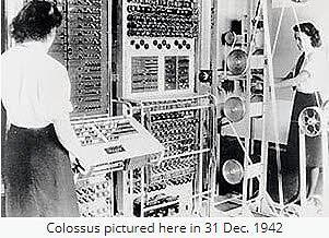 Colossus - British Intelligence