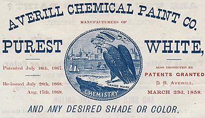"""Se registra la primera marca comercial llamada """"Avenill paint co."""""""