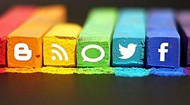 Línea del tiempo de las redes sociales timeline