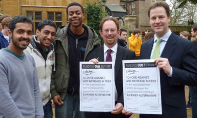 Liberal Democrat 2010 Manifesto is announced.