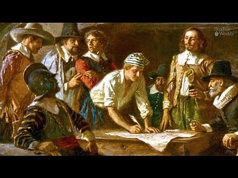 El pacto de Mayflower