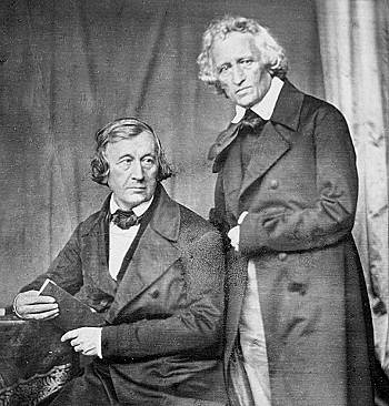 Grimm Brothers: Jacob Ludwig Carl Grimm (1785-1863) and Wilhelm Carl Grimm