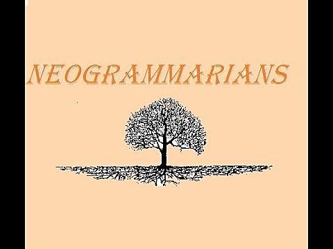 Neo-Grammarian School