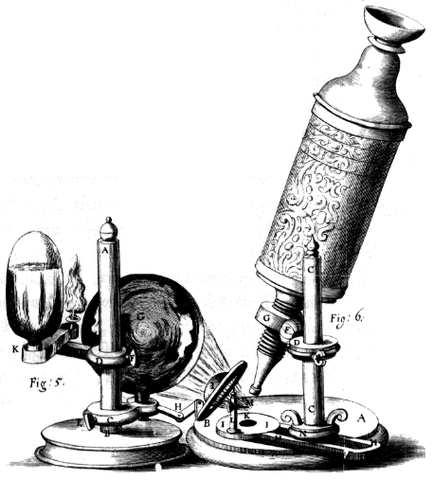 The microscope  was invented