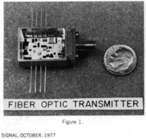 U.S military uses fiber optic