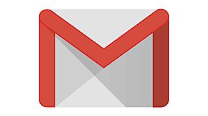 La messagerie Gmail ouvre.