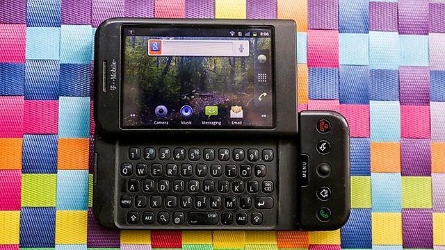 Le premier téléphone sous Android