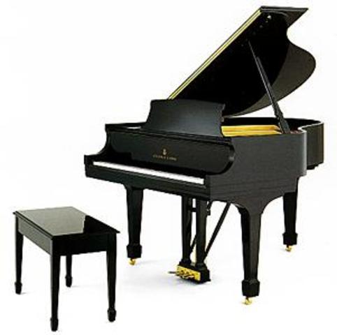 A more grand piano