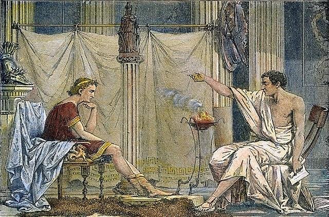 Aristoteles como Tutor