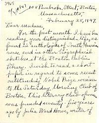 La carta de Massachusetts